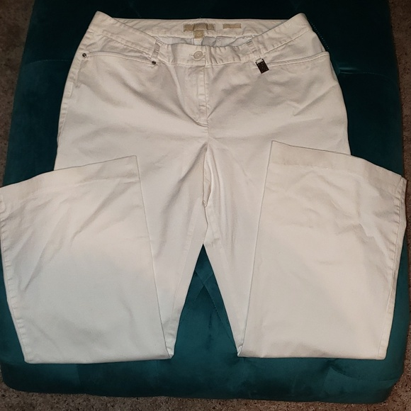 Michael Kors Pants - Michael Kors white slacks